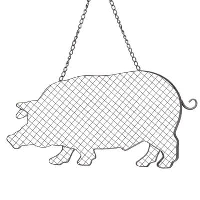 |MTL. HANGING WIRE PIG (18/cs)|