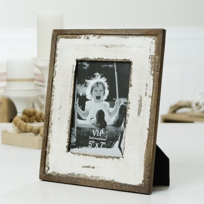 "WD. TABLETOP PICTURE FRAME 11.5"" (8/cs)"