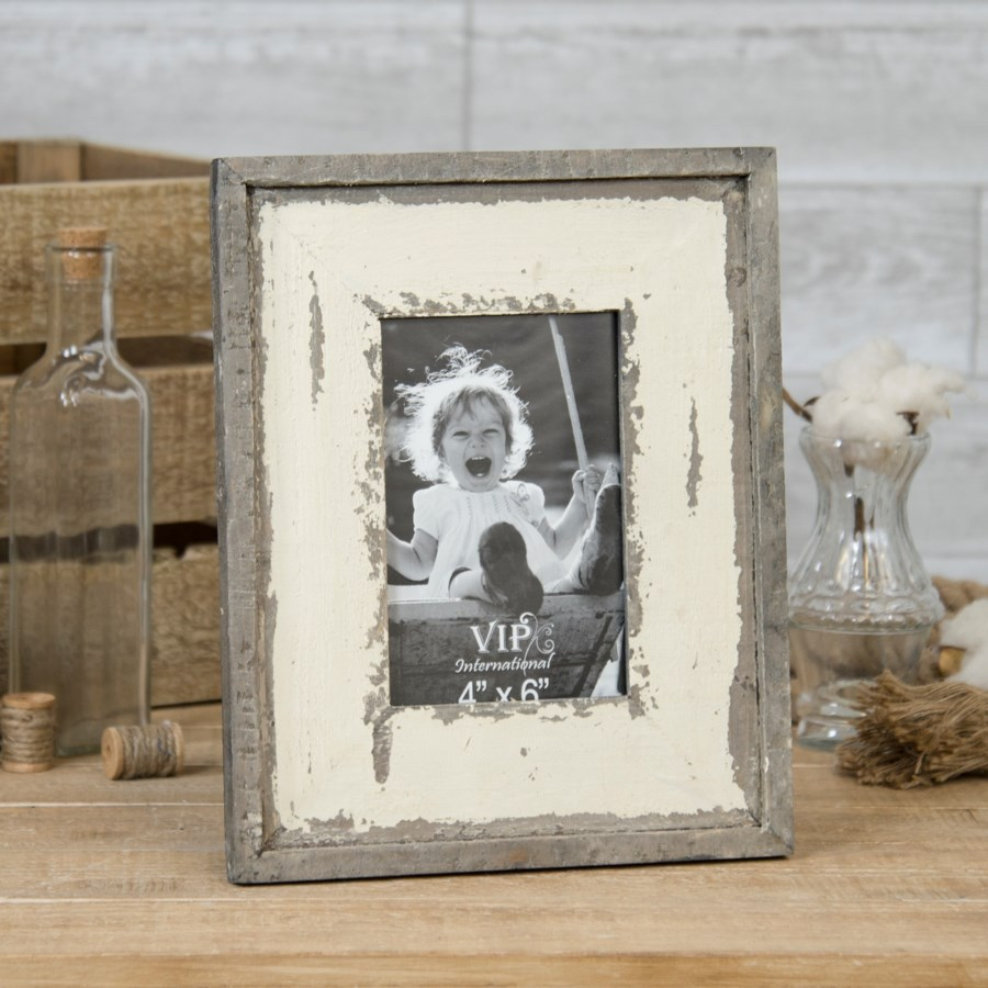 "WD. TABLETOP PICTURE FRAME 10.25"" (8/cs)"
