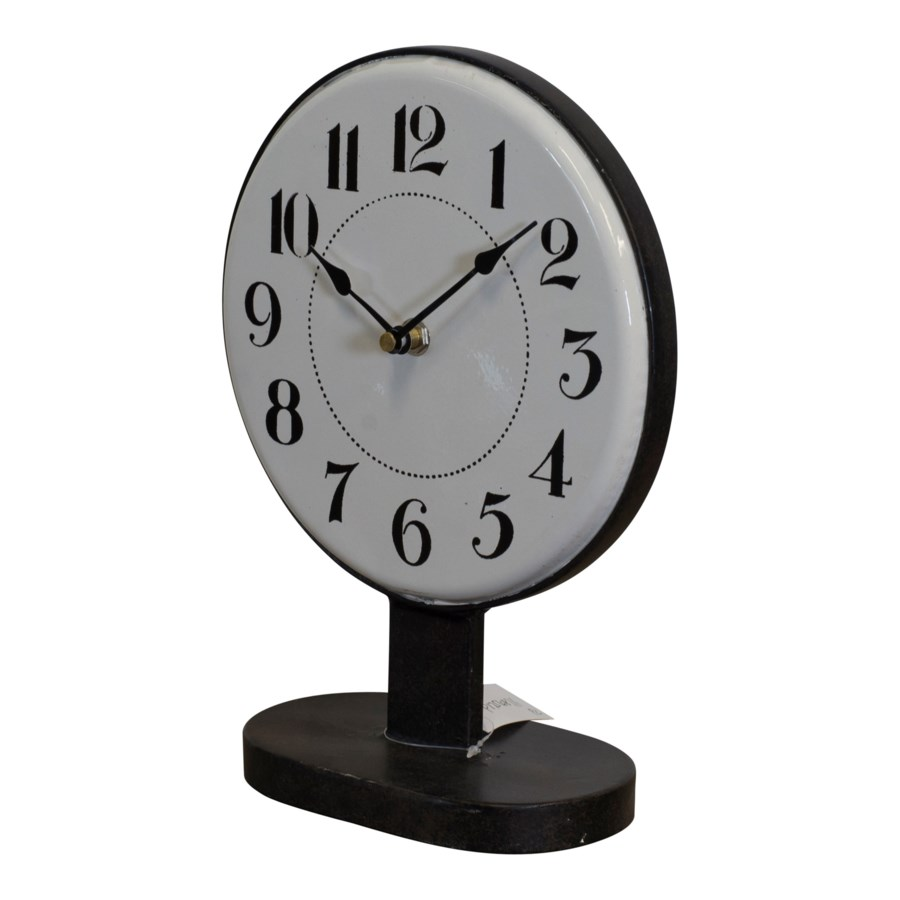 MTL. STANDING CLOCK (12/cs)