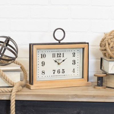 WD. TABLE CLOCK (6/cs)