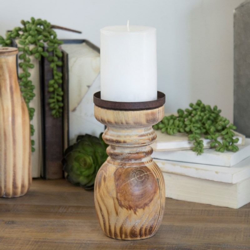 |WD. CANDLE HOLDERS SET/3|
