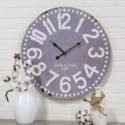 "WD. 23"" WALL CLOCK GREY (4/cs)"