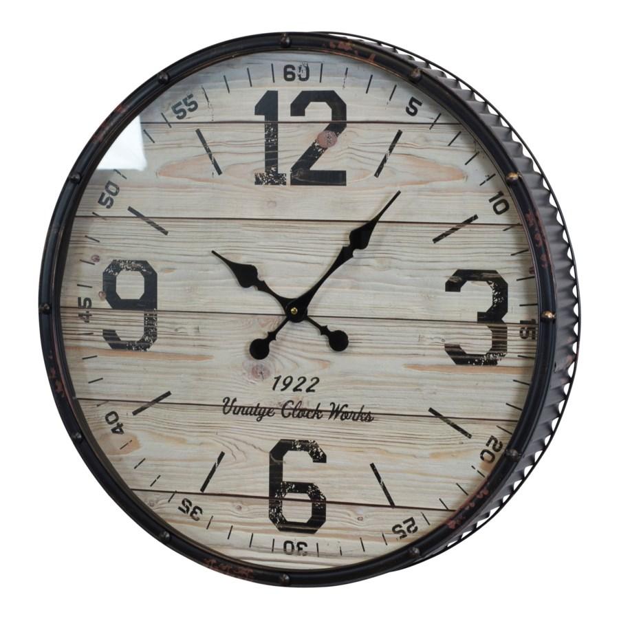 """WALL CLOCK 24"""" (2/cs)"""