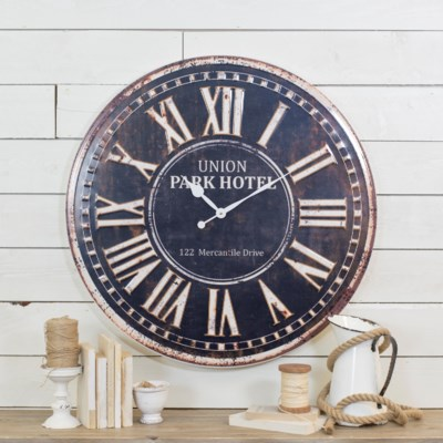 "MTL. WALL CLOCK 32"" (1/cs)"