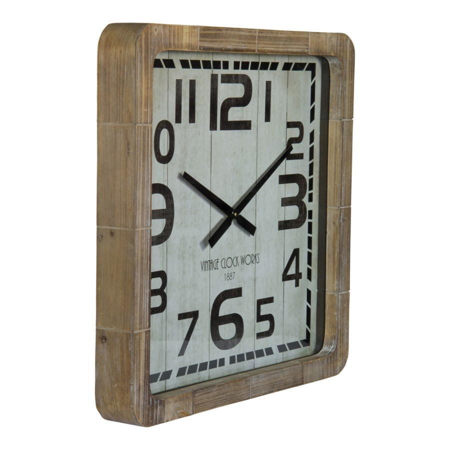 WD. WALL CLOCK 25""