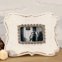 |WD. JEWELED PICTURE FRAME (12/cs)|