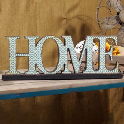 |WD. HOME WORD ART (4/cs)|