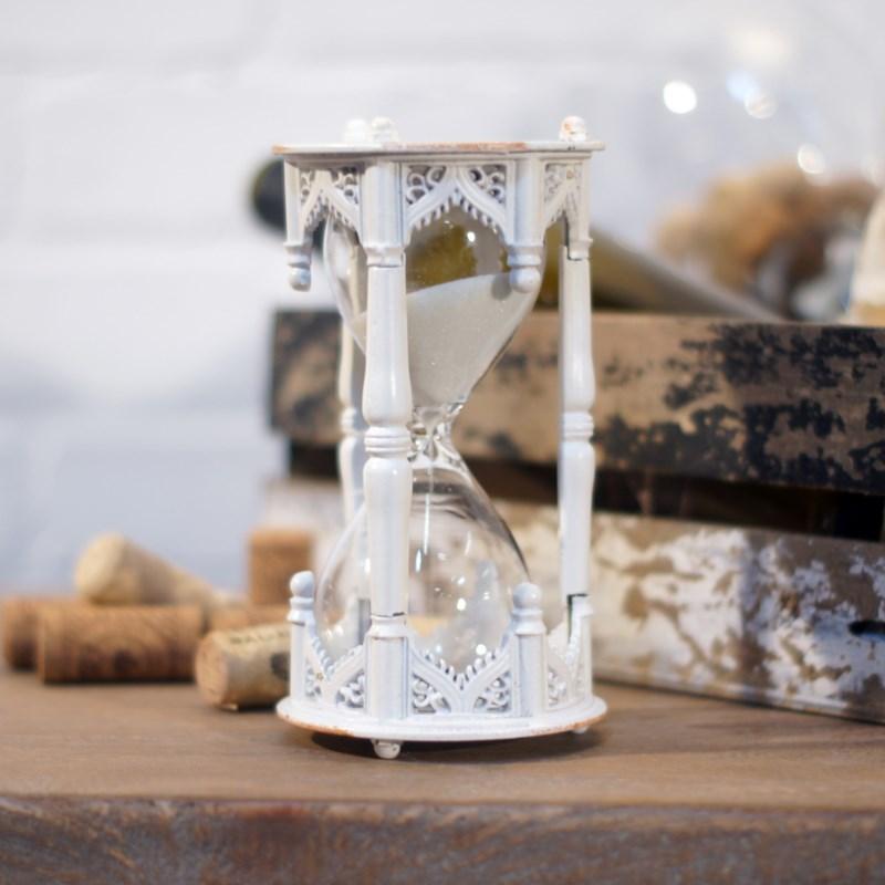 MTL. HOUR GLASS WHITE