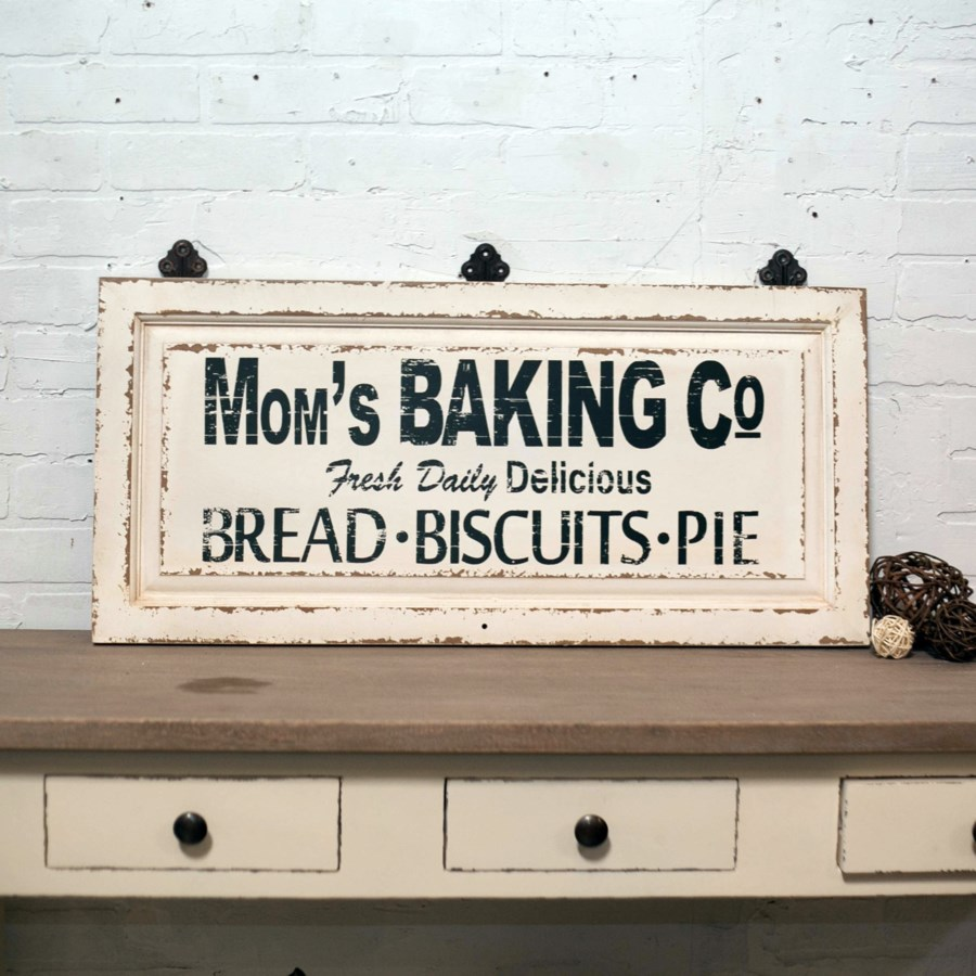 """WD. SIGN """"MOM'S BAKING CO"""" (4/cs)"""