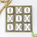 WOOD BLOCK TIC TAC TOE (6/cs)