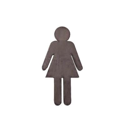 MTL. BATHROOM PEOPLE S/2 (12/cs)