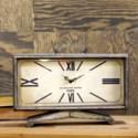|MTL. TABLE CLOCK (6/cs)|
