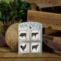 |WD. FARM ANIMAL MAGNETS|