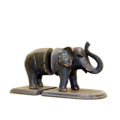  ELEPHANT BOOKENDS (6/cs) 