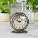 MTL. TABLE CLOCK (18/cs)