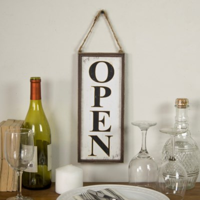 """WD. """"OPEN/CLOSED"""" SIGN (36/cs)"""