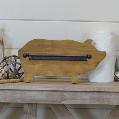 |WD. PIG PAPER TOWEL HOLDER (4/cs)|