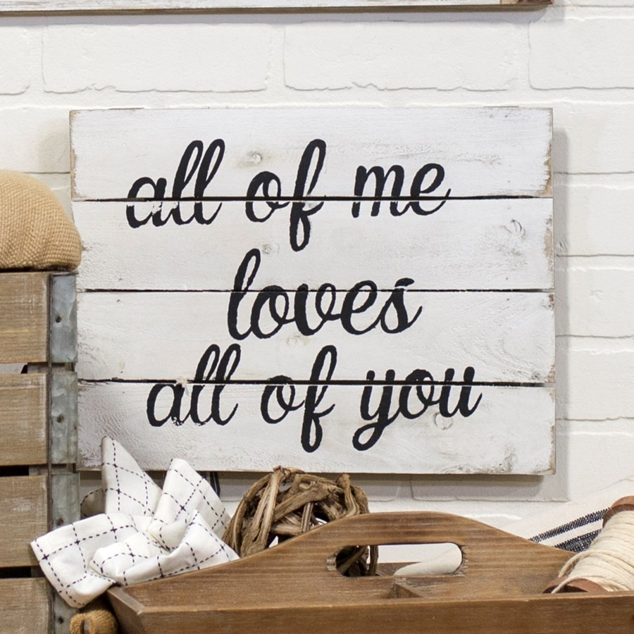 """WD. SIGN """"ALL OF ME"""" (12/cs)"""