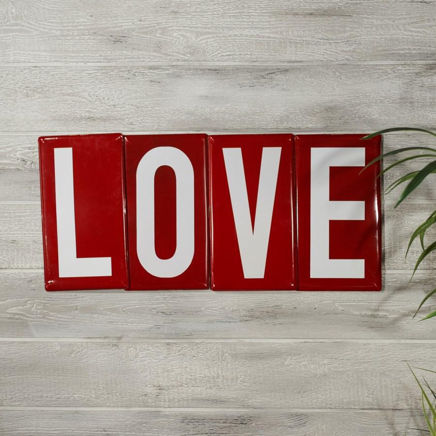 |MTL. LOVE TILES SET/4|