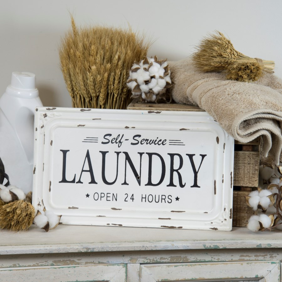 "MTL. SIGN ""LAUNDRY"" (20/cs)"