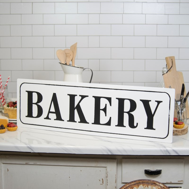"|MTL. WORD ART ""BAKERY""