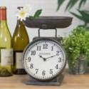 MTL. TABLE CLOCK SCALE DESIGN (6/cs)