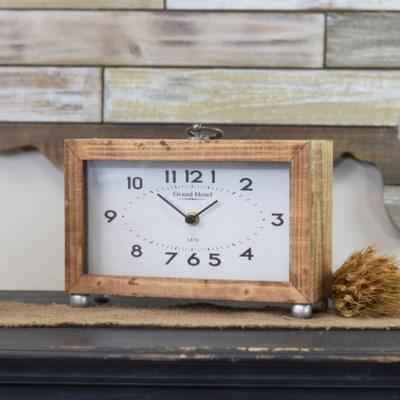 WD. TABLE CLOCK  (6/cs)