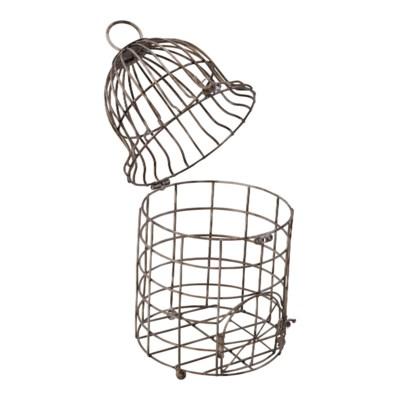  MTL. BIRD CAGE DECOR (12/cs) 