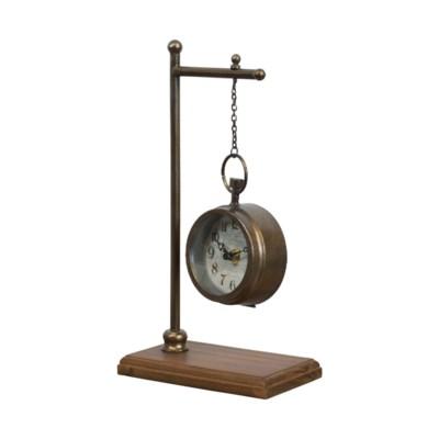 MTL. HANGING CLOCK (16/cs)