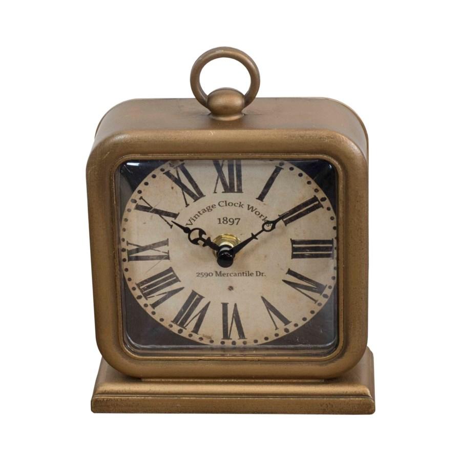 MTL. TABLETOP CLOCK (16/cs)