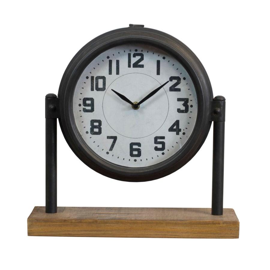 MTL. TABLETOP CLOCK (4/cs)