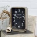 MTL. TABLETOP CLOCK (8/cs)