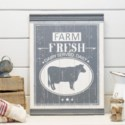 "WD. SIGN ""FARM FRESH"" (4/cs)"