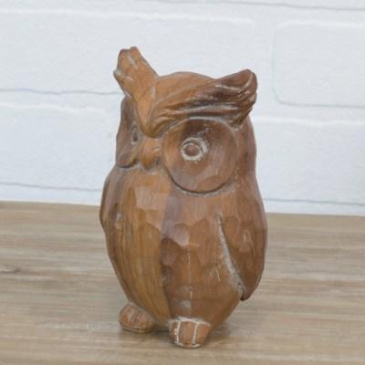 RSN. DECORATIVE OWL (36/cs)