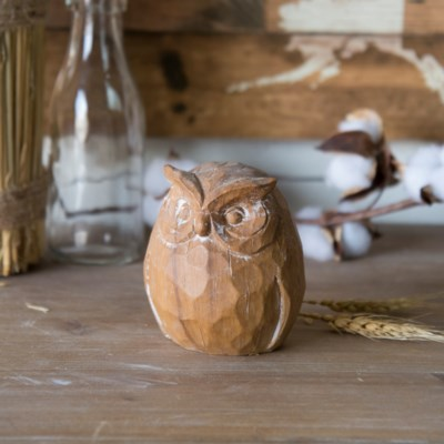 RSN. DECORATIVE OWL (36/cs)