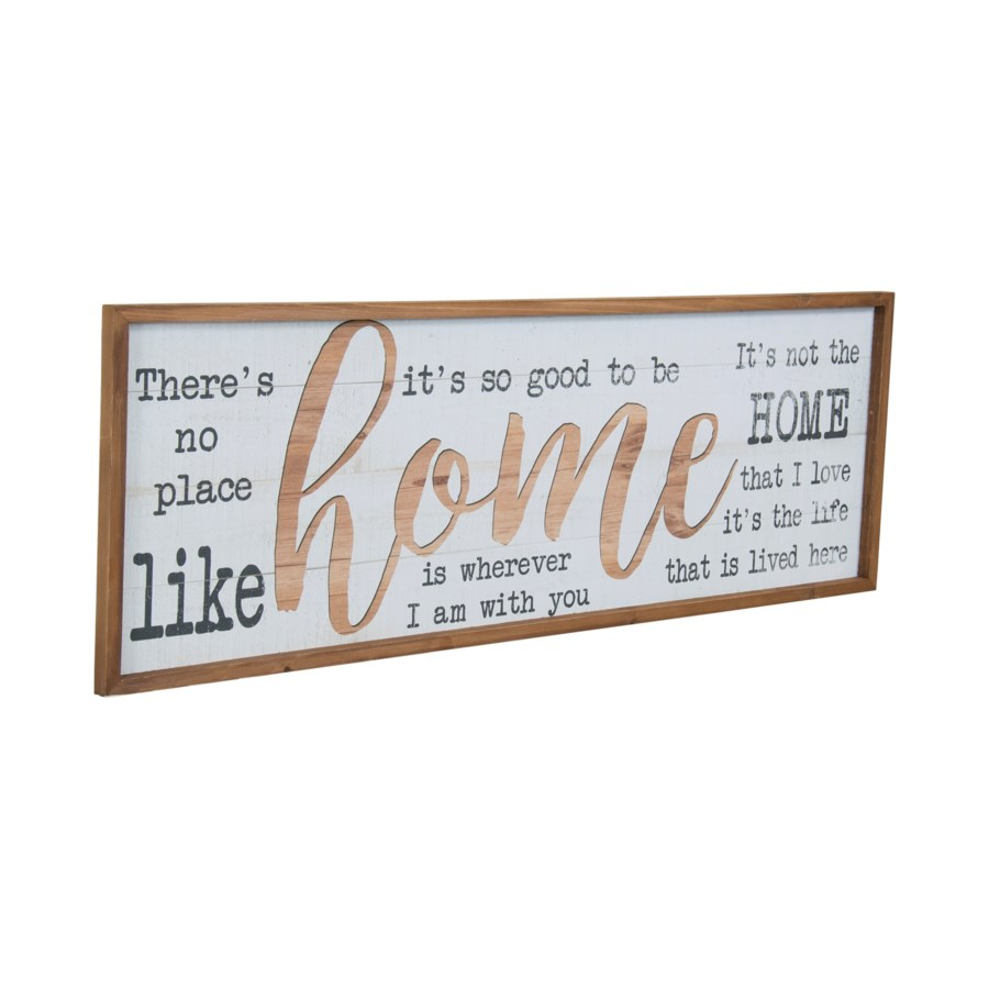 """WD. SIGN """"HOME"""" (1/cs)"""