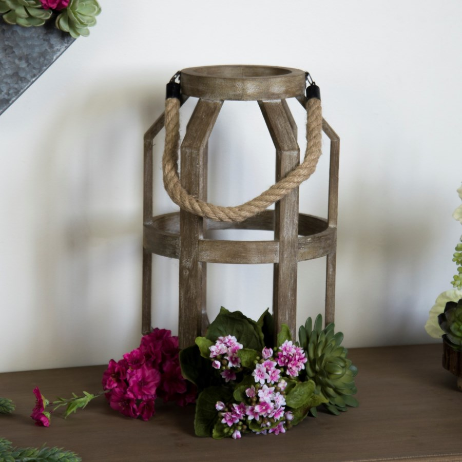 """WD. CANDLE HOLDER 9"""" (1/cs)"""