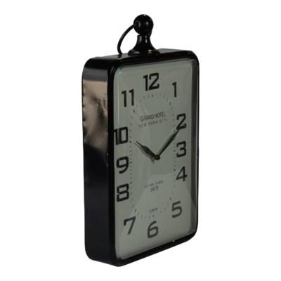 MTL. WALL CLOCK (1/cs)