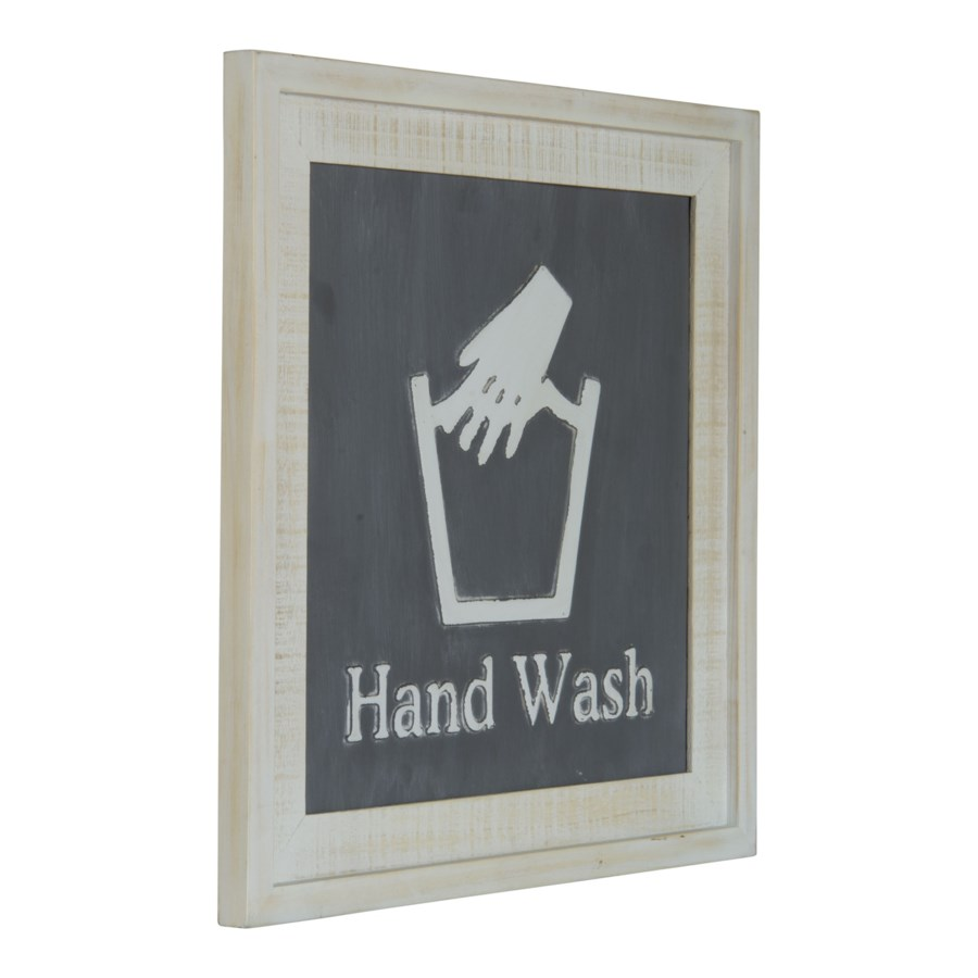 "WD. SIGN ""HAND WASH"""
