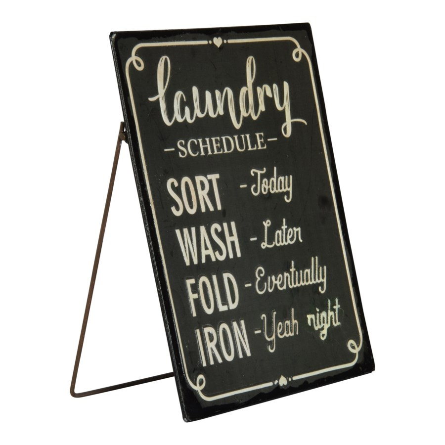 MTL. LAUNDRY SIGN