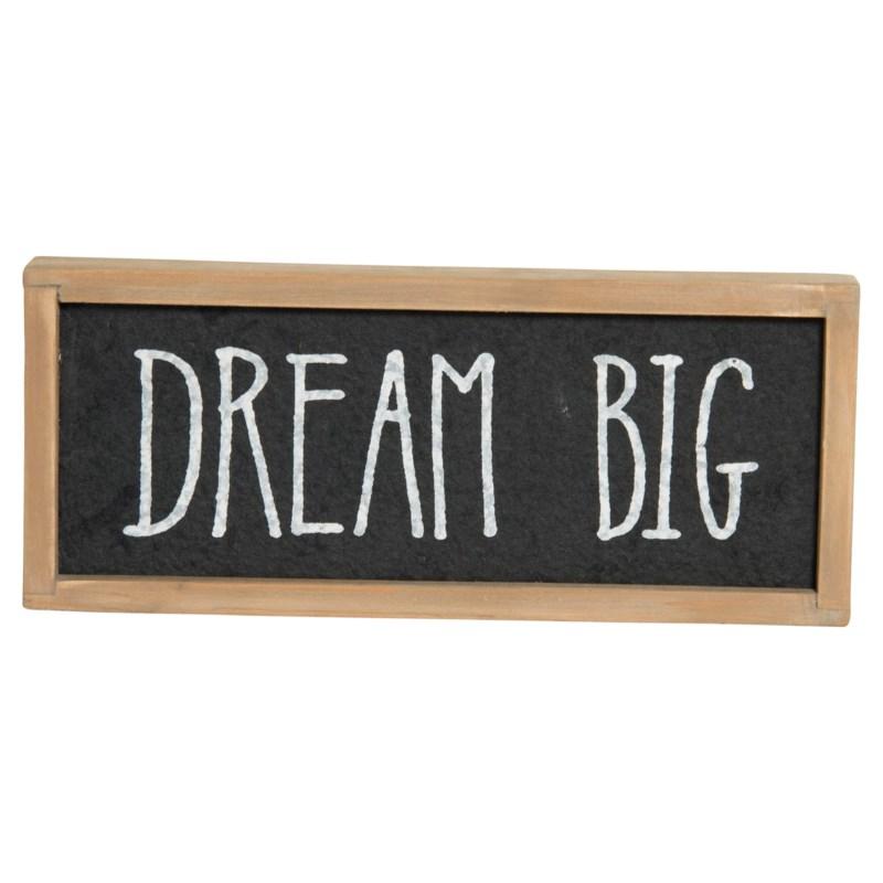 """ WD. SIGN """"DREAM BIG"""" """