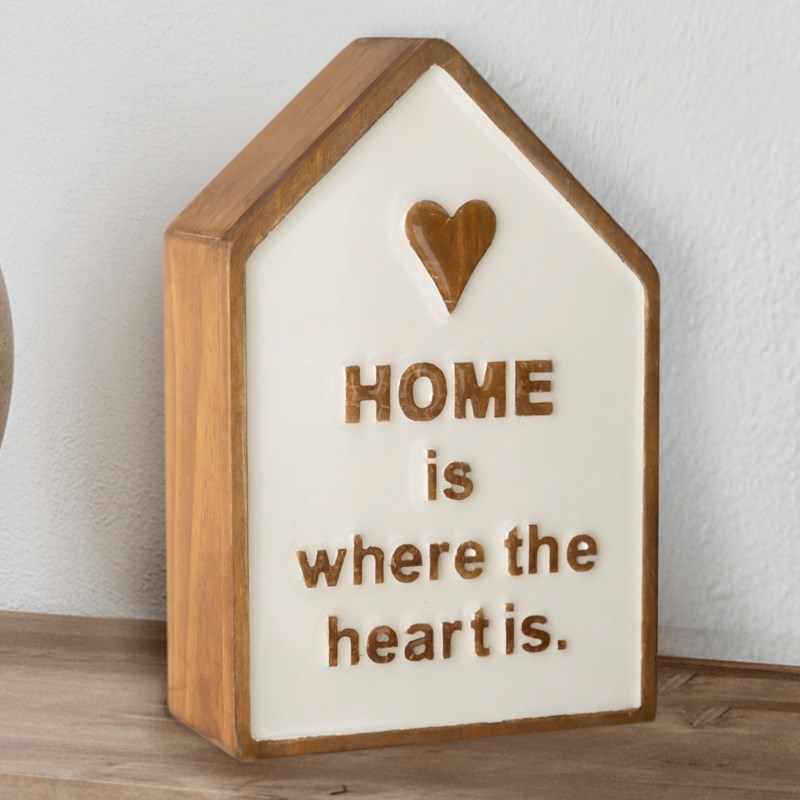 """WD. TABLETOP DECOR """"HOME"""""""