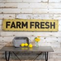 "|MTL. ""FARM FRESH"" WORD ART (2/cs)|"