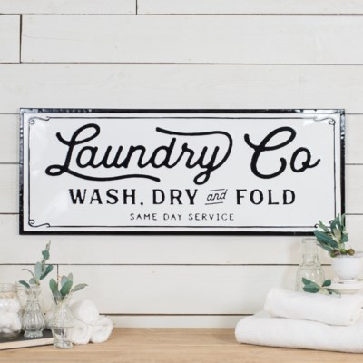 "MTL. SIGN ""LAUNDRY"" (4/cs)"