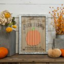 "|WD./MTL. SIGN ""HAND PICKED PUMPKINS""