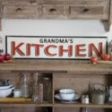 "MTL. SIGN ""GRANDMAS KITCHEN"" (1/cs)"