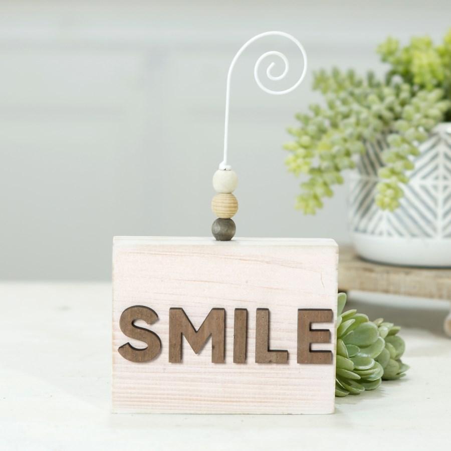 "|WD. PHOTO HLDR ""SMILE""|"