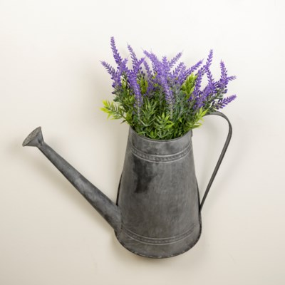 MTL. WATERING CAN DECOR (8/cs) (Available Jan 2019)