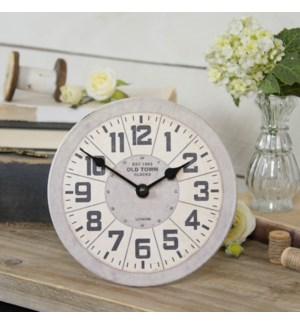 |MTL. TABLE CLOCK|